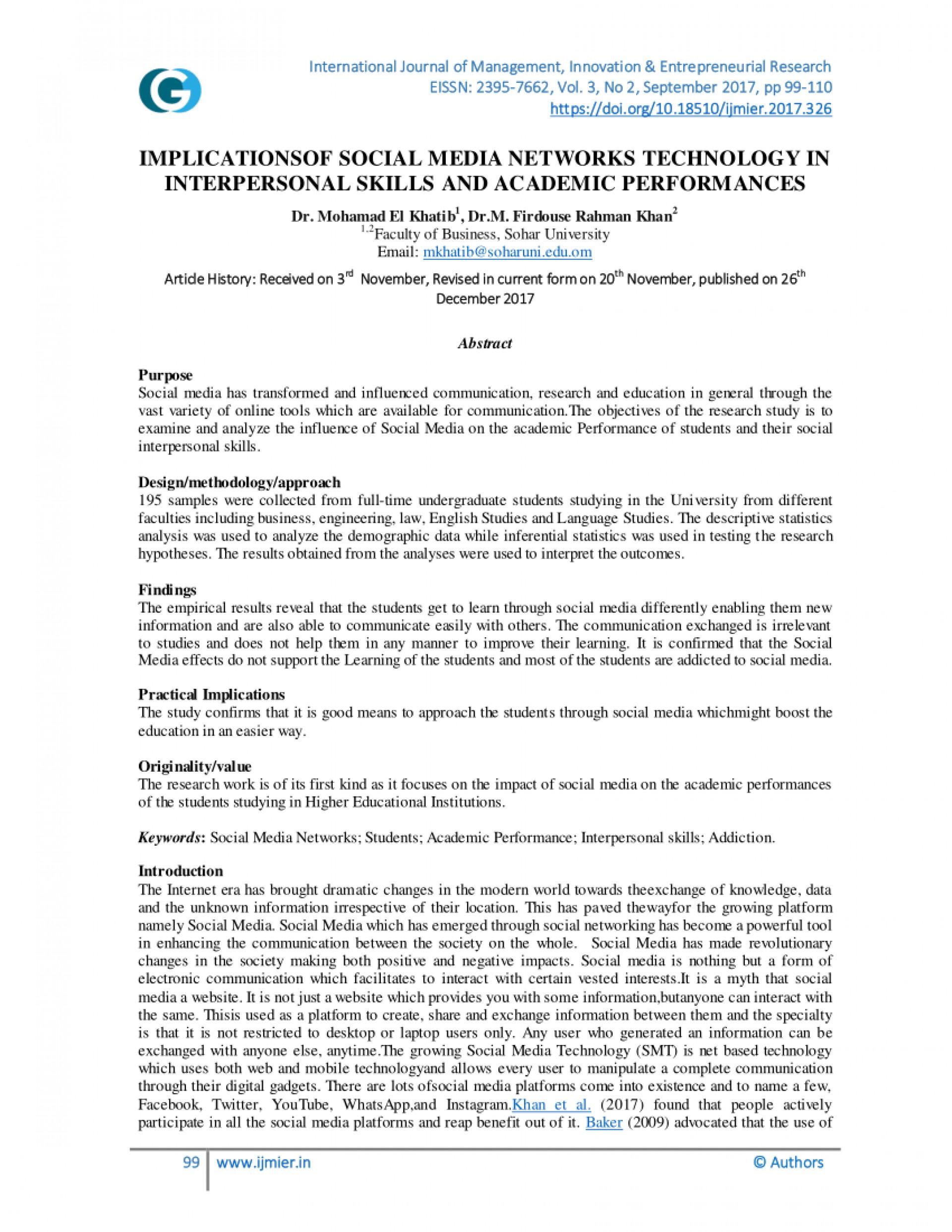 social media essay 250 words pdf