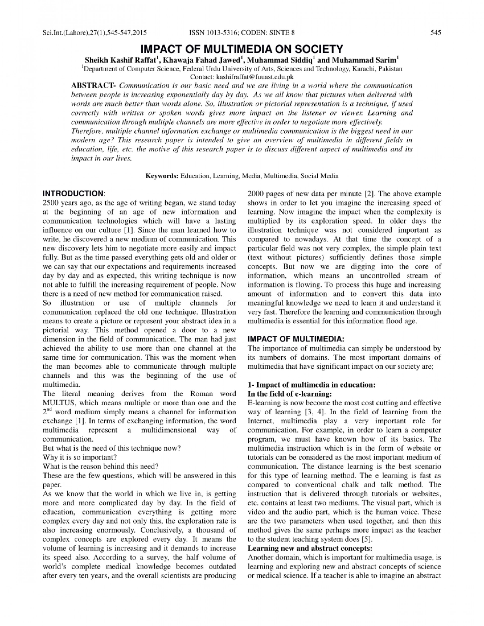 the role of communication in social networks for modern education essay