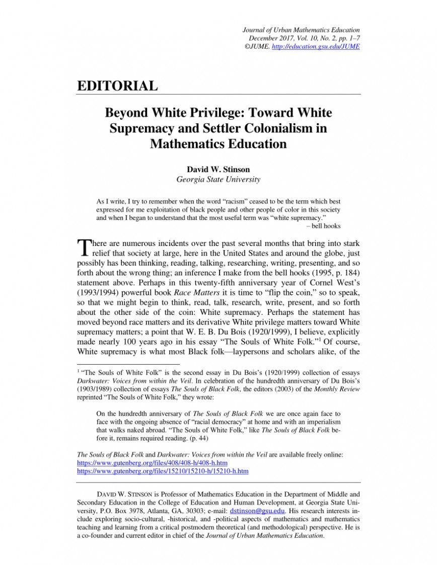 003 Largepreview White Privilege Essay Marvelous Thesis
