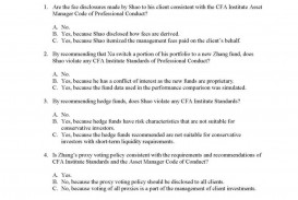 003 Level Iii Exam Question Paper Essay Example Stirring Cfa 3 Tips Sample Questions Examples