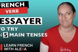 003 Maxresdefault Essay Example Essayer Beautiful French Conjugation Future Futur Simple
