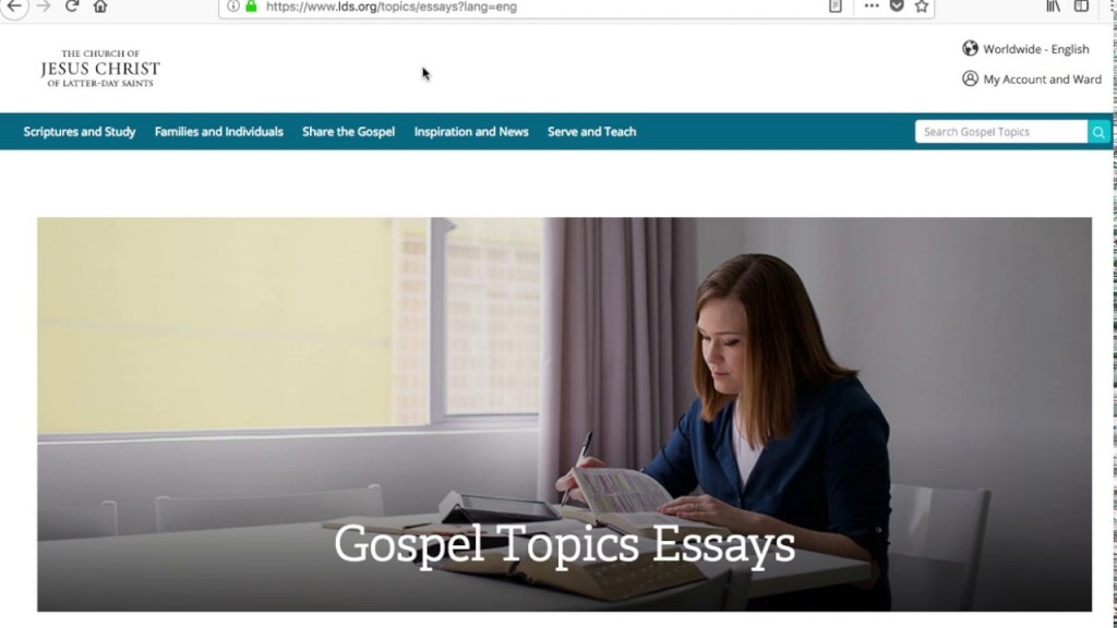 003 Maxresdefault Essay Example Lds Gospel Topics Unforgettable Essays Large