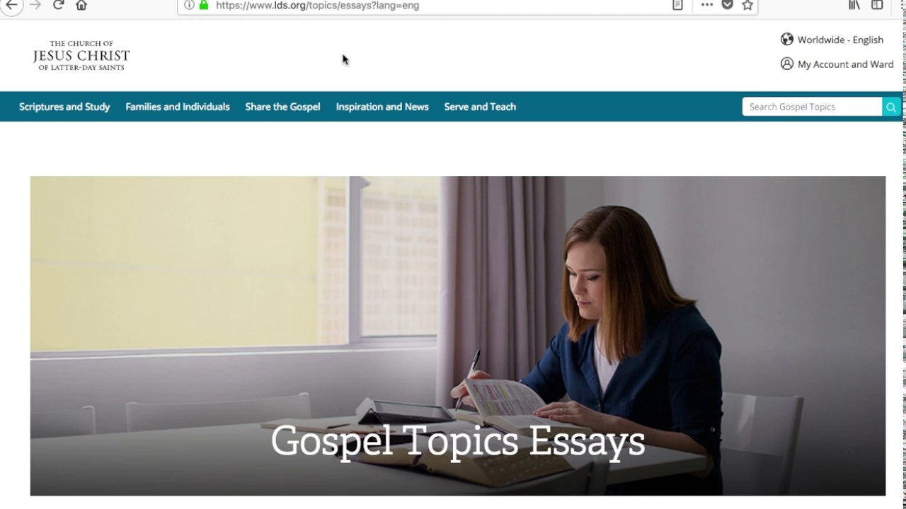 003 Maxresdefault Essay Example Lds Gospel Topics Unforgettable Essays Full