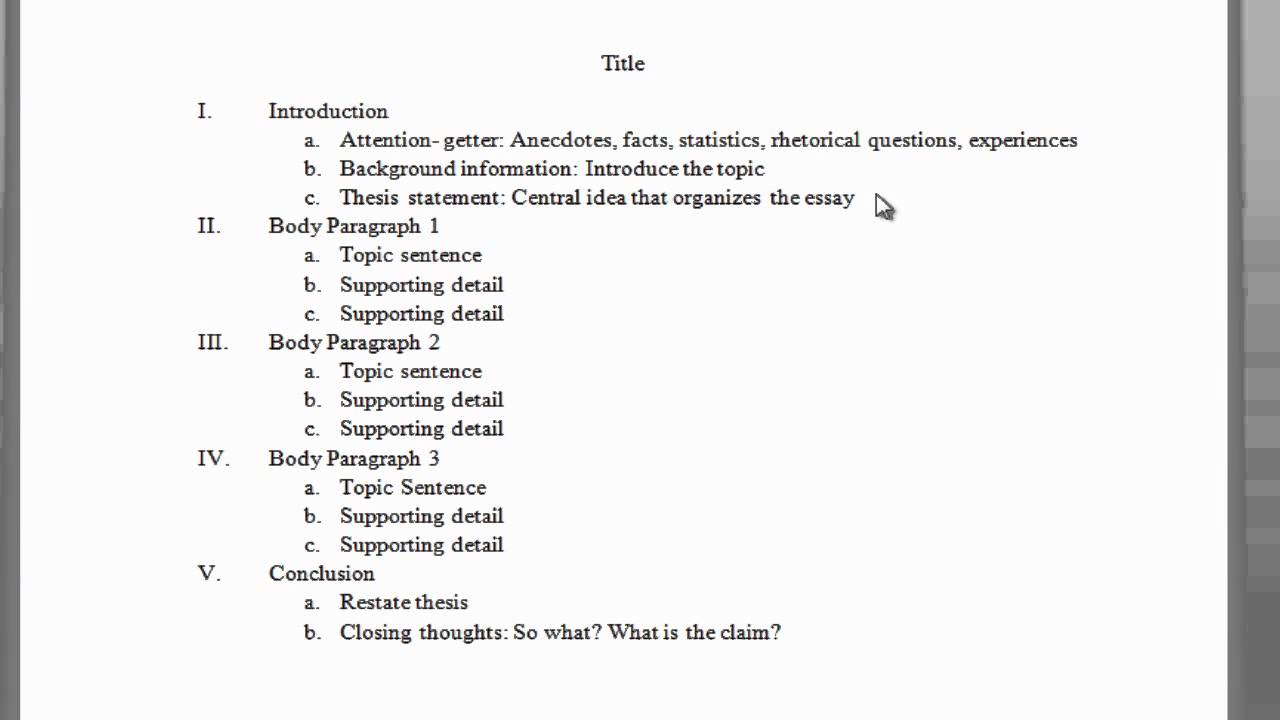 003 Maxresdefault Essay Example Outline Impressive Of Argumentative Sample Mla Format Full
