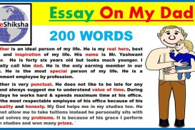 009 Essay On Father Happy Parents Day Speech Hindi English An My