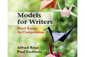 003 Models For Writers Short Essays Composition Essay Example Page 1 Singular 12th Edition 13th Pdf