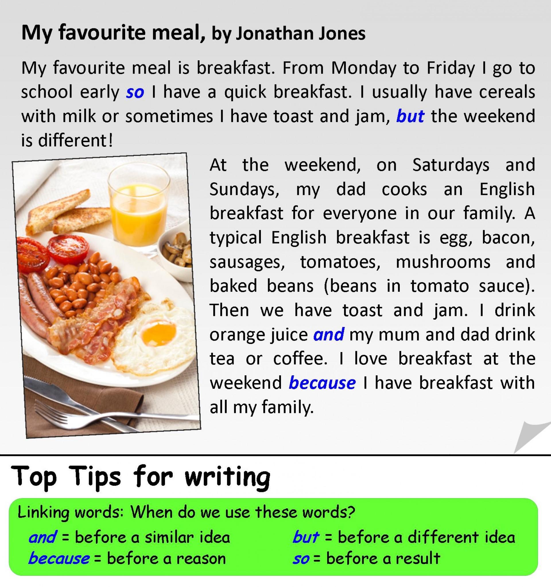 001 My Favorite Food Essay ~ Thatsnotus