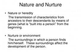 003 Nature Vs Nurture Essay Nature20nurture Incredible Paper Outline Topics