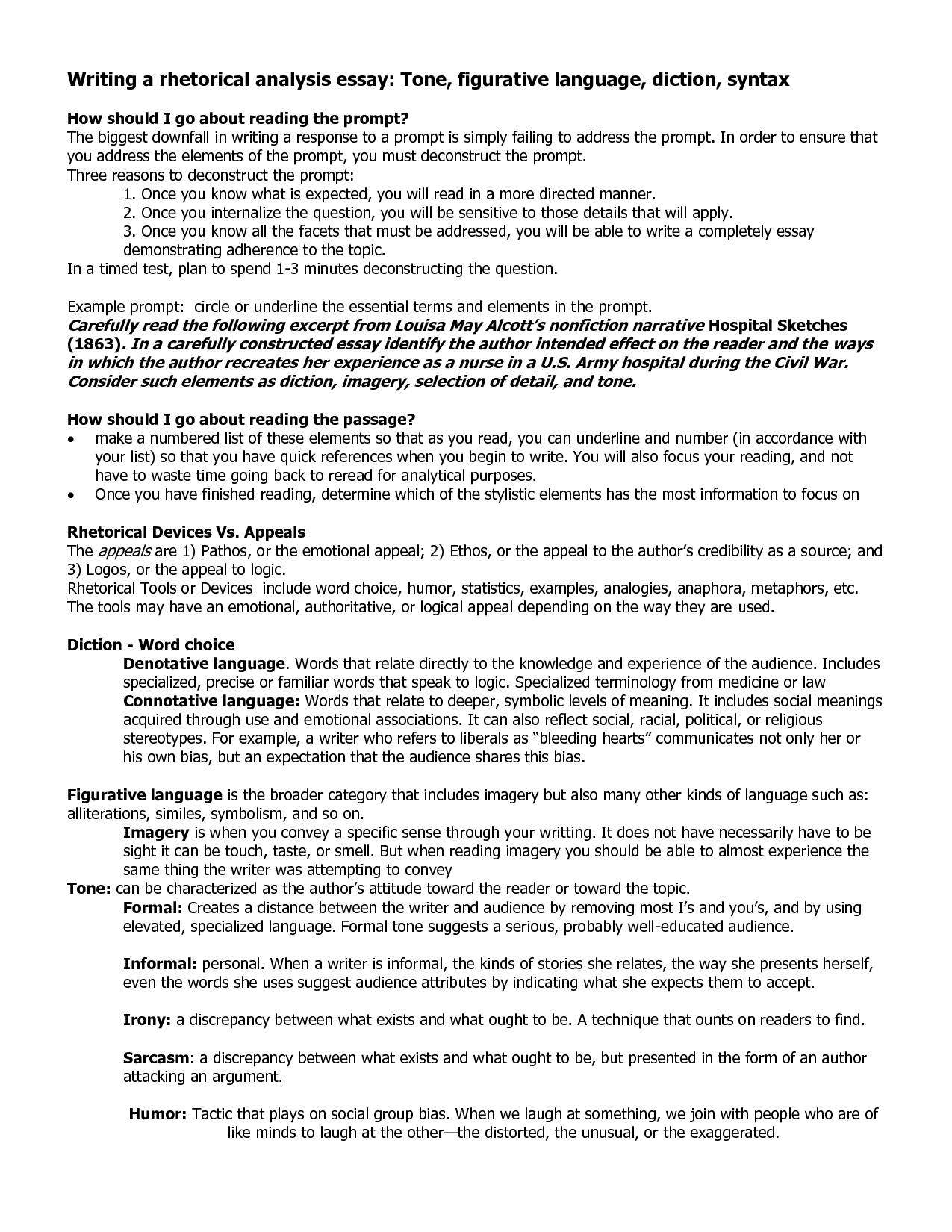 003 Ndouplovif Rhetorical Essay Definition Dreaded Analysis Meaning Full