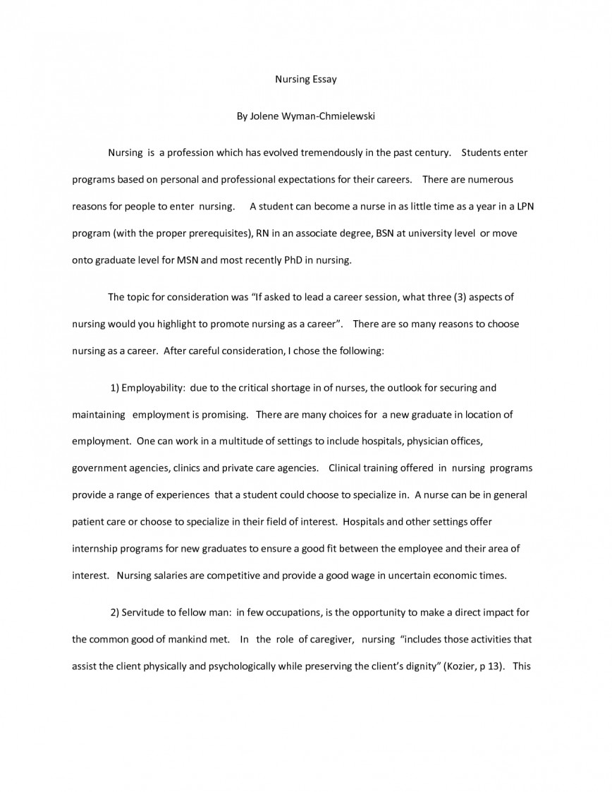 003 Nurse Application Essay Format Medical Nursing School Samples Colleges Graduate Scholarship Essays Personal Of Great Grad Applying To Fearsome Examples