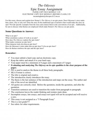 003 Odyssey Essay Topics 008040788 1 Amazing Prompt Prompts 360