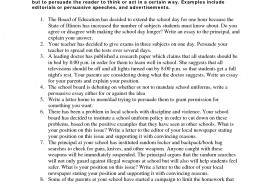 003 Persuasive Essay Prompts Example Topics For High Striking School Argumentative Students