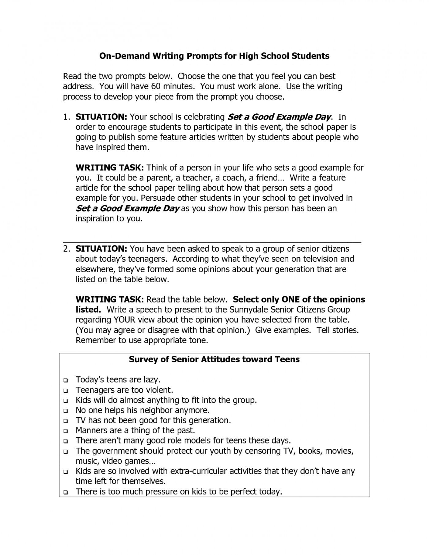 essay example topics for high school students student  thatsnotus   persuasive essay topics high schoolents highschool photo writing  sludgeport web fun for seniors easy funny