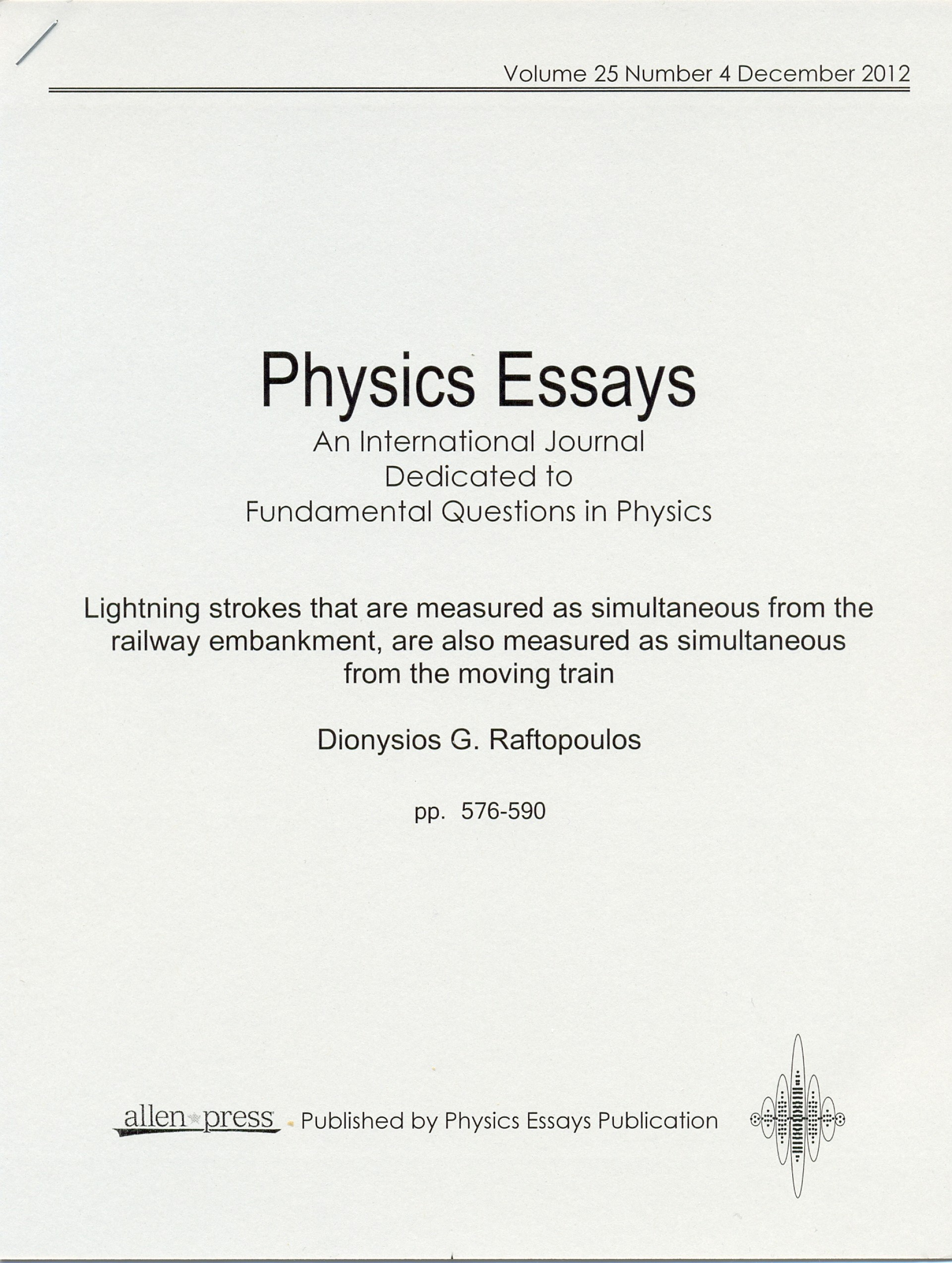 003 Physics Essays Cover202 Essay Rare Extended Topics Examples Wikipedia Crackpot 1920