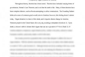 003 Preview0 Organ Donation Essay Top Transplant Argumentative Persuasive Introduction Outline