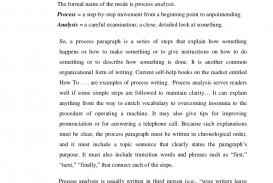 003 Processanalysisparagraph Phpapp01 Thumbnail What Is Process Essay Unusual A Complex Good Analysis Topic Description