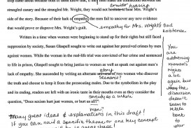 003 Revise Essay Trifles By Susan Glaspell Students Teaching English I College Revision Checklist Plan Service 1048x1079 Formidable Questions Feminism Topics 320