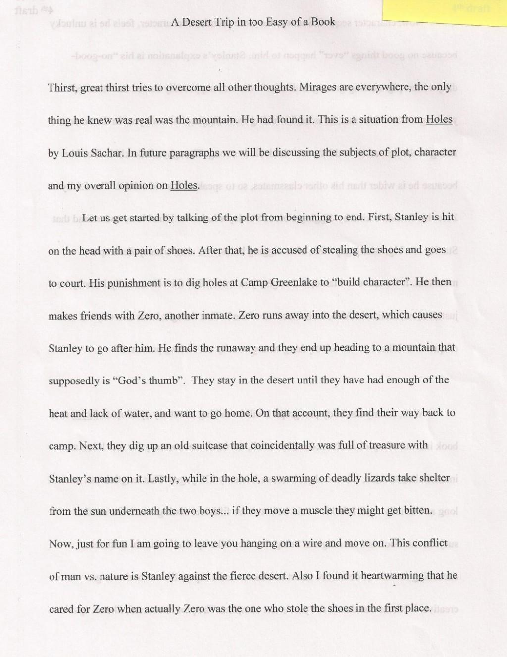 003 Sample Argumentative Essay High School Persuasive On Wearing Uniforms Conclusion Paragraph Desert 1048x1358 Example Breathtaking Holes Black Large