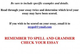003 Sample Ged Essays With Scores Essay Writing Front Desk Receptionist Resume Ms Word Rubric Examples English Simple L Youtube Topics Samples Tips Lesson Plans In Spanish Rare Pdf