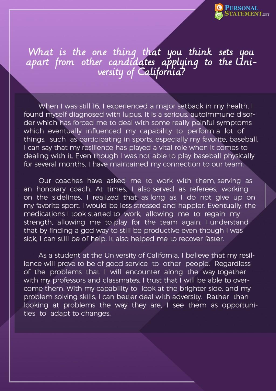 003 Sample Uc Essays University Of California Personal Statement Essay Imposing Prompt 1 6 3 Large