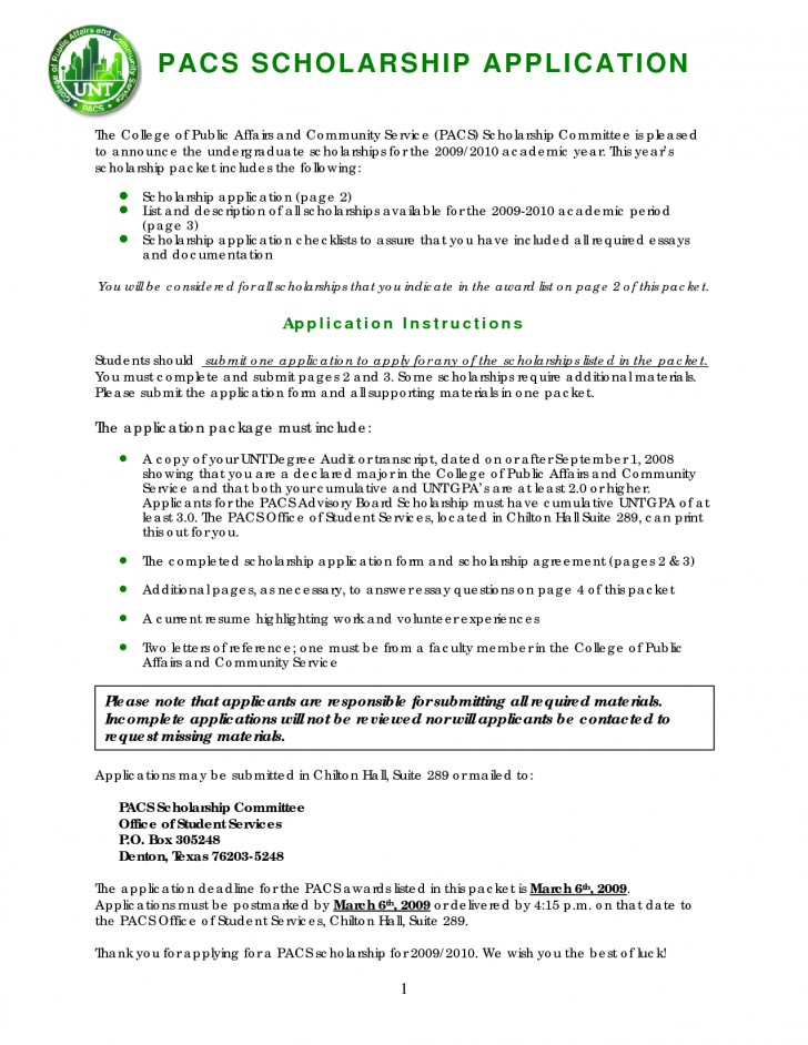 003 Scholarship Application Essay Example Staggering Mba Sample Tips College Ideas 728