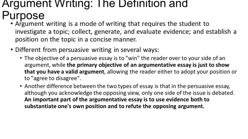 003 Slide Argumentative Writing Definition Essay Fearsome Define Persuasive/argumentative Pdf Large