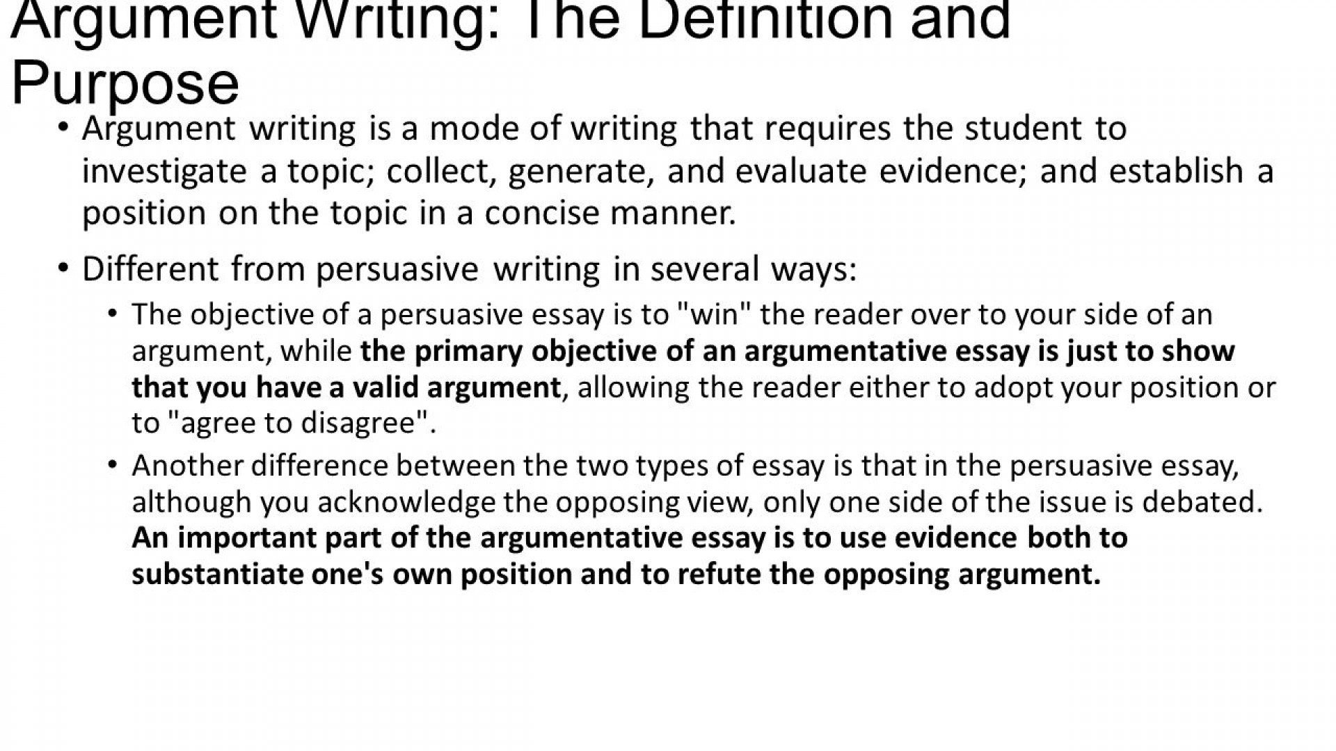 003 Slide Argumentative Writing Definition Essay Fearsome Wikipedia Define Format & Examples 1920