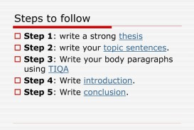 003 Steps To Writing An Argumentative Essay Term Paper Goodep Up Second In Easy Write The Flow Chart Shows Some Of Middle School Pdf Example How By Shocking Step Ppt