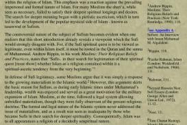003 Sufi Essays Essay Example Page 1 Singular Seyyed Hossein Nasr Pdf