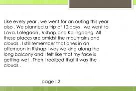 003 Summer Vacation Essay Example Frightening For Class 6 In Urdu On Marathi