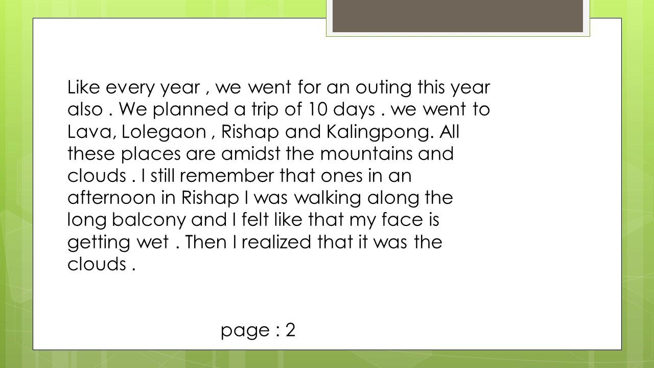 003 Summer Vacation Essay Example Frightening For Class 6 In Urdu On Marathi Full