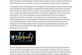 003 Supersize Me Essay Supersizemeessay Phpapp01 Thumbnail Stupendous Fathead Vs Super Size Conclusion Summary