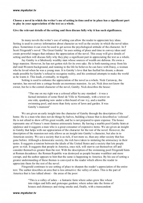 003 The Great Gatsby Symbolism Essay Example Essayonsetting Phpapp01 Thumbnail Phenomenal Green Light Color 480
