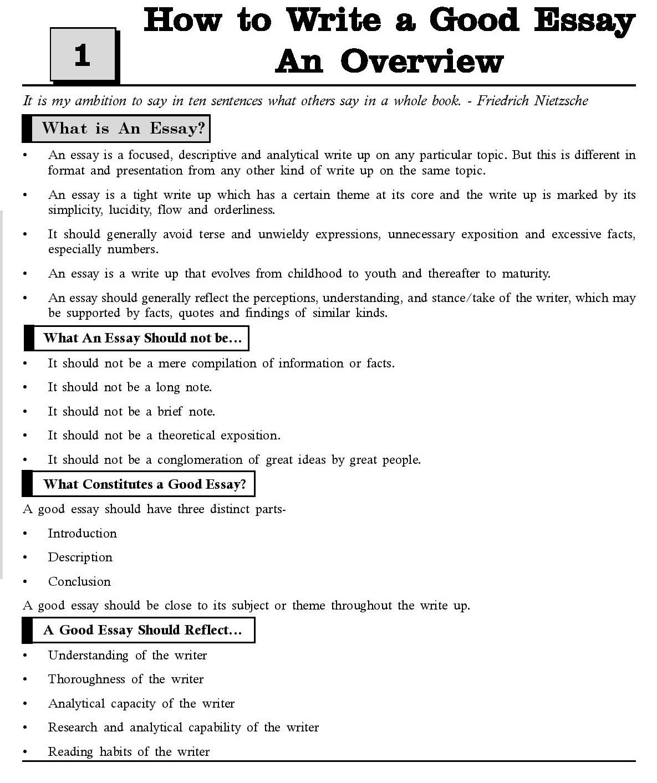 003 Tips To Write Good Essay How20to20write20a20good20essay Marvelous A Sat Descriptive Narrative Full