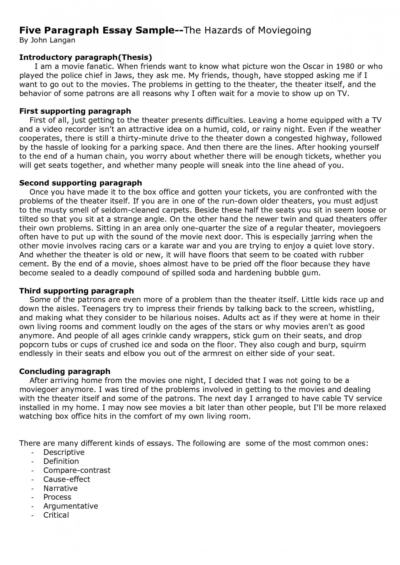 003 U2shuebtjf Paragraph Essay Example Excellent 5 College Pdf 1400