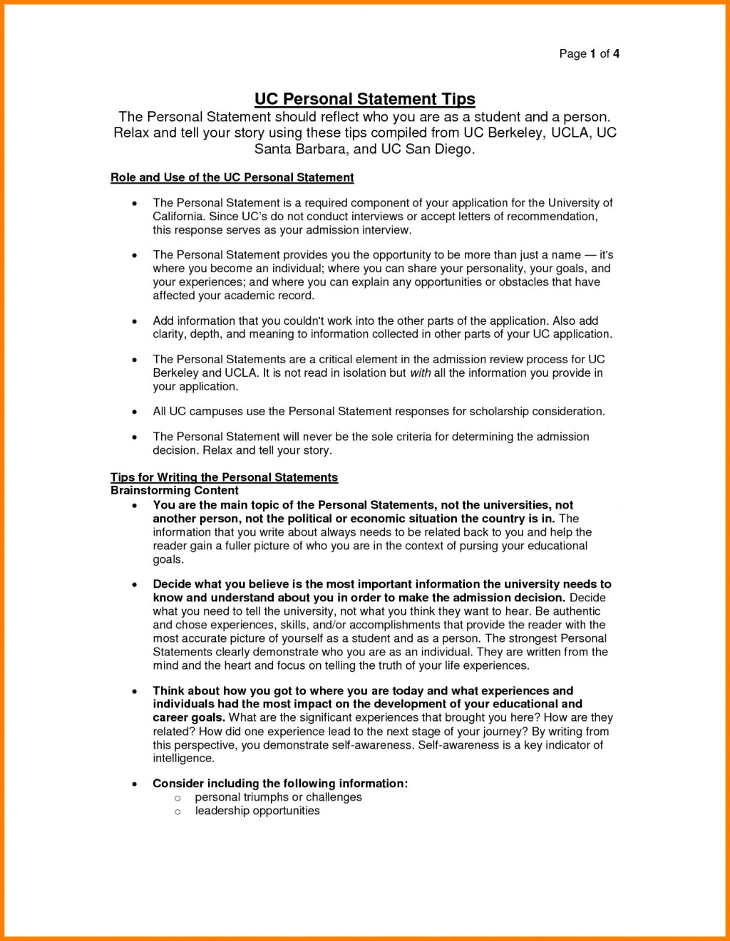 003 Uc Essay Example Essays Examples Best Personal Statement Samples Berkeley Intended For College Prompts Awful Tips 2018 Reddit Large