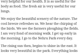003 Walk In The Park Essay Example Remarkable A Descriptive 320