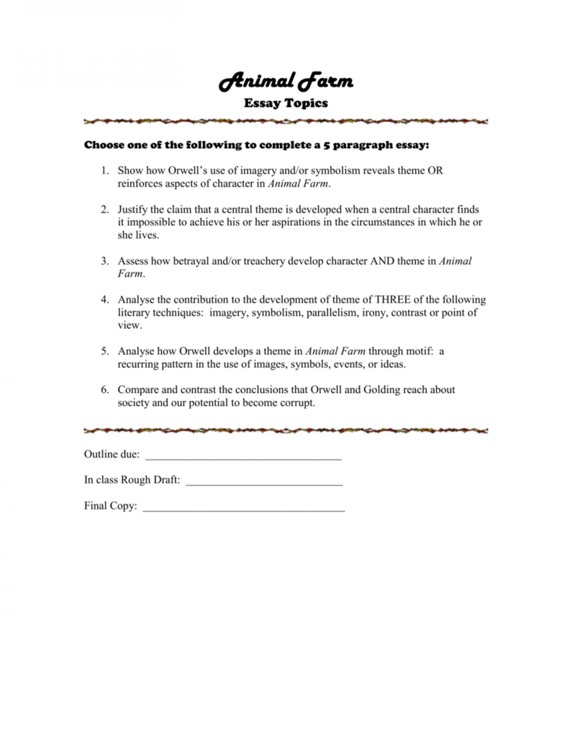 004 008028630 1 Animal Farm Essay Striking Propaganda Conclusion Introduction 1920