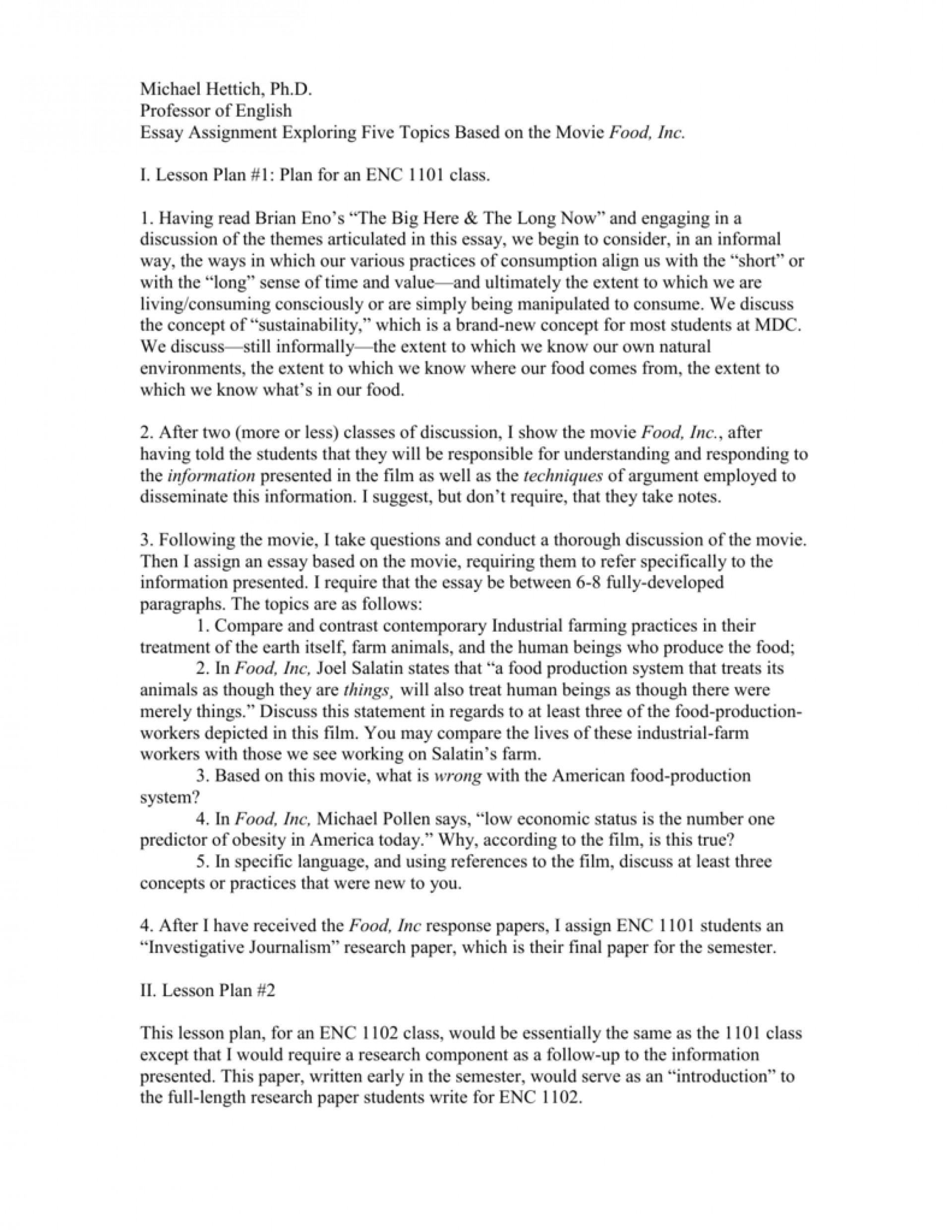 004 008870230 1 Essay Example Food Top Inc Questions Topics Pdf 1920