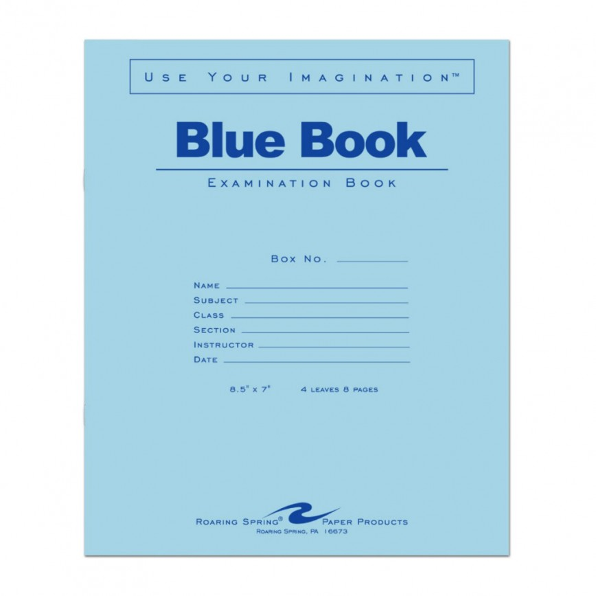004 1024x1024 Blue Book Essay Magnificent Little Writing