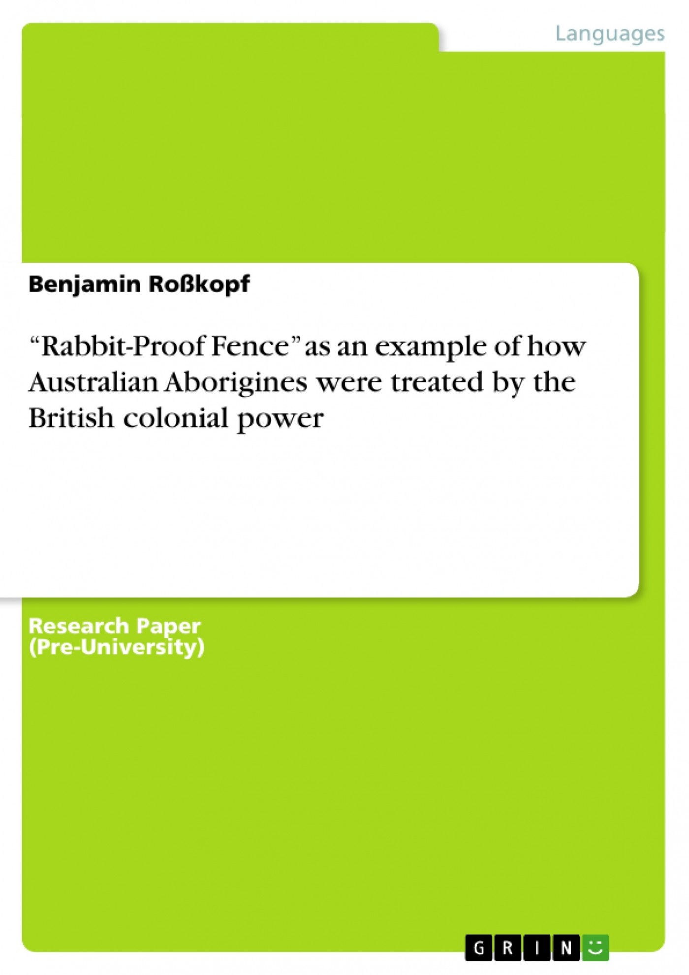 004 282790 0 Essay Example Rabbit Proof Fence Film Top Review 1400