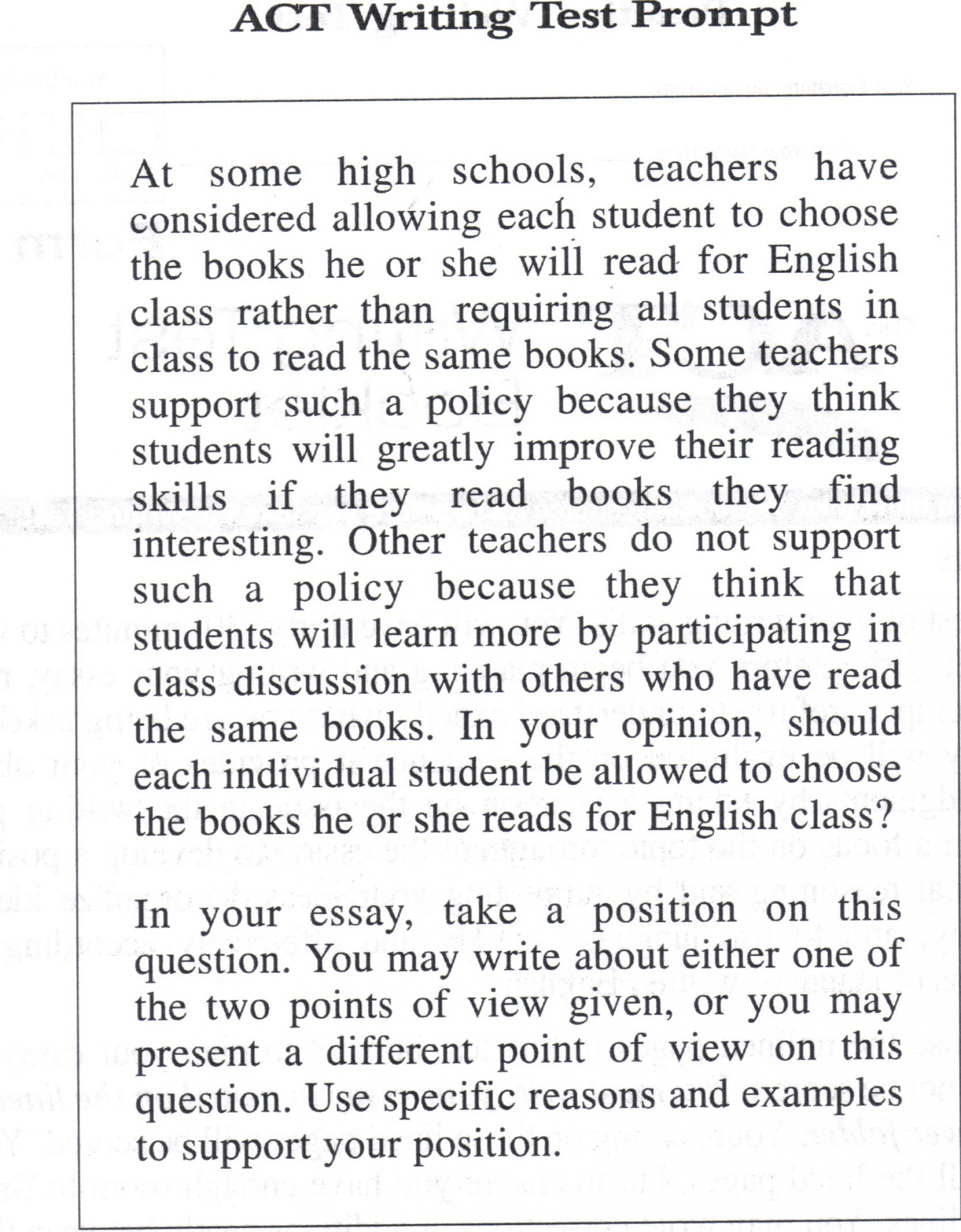 004 Act Essay Tips Actwritepromptbookchoice Incredible Prepscholar 1920