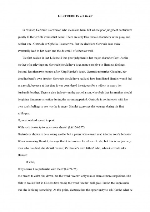 004 Analysis Essay Sample Example How To Write Formidable A Literary Good English Literature Introduction Conclusion Grade 4 480