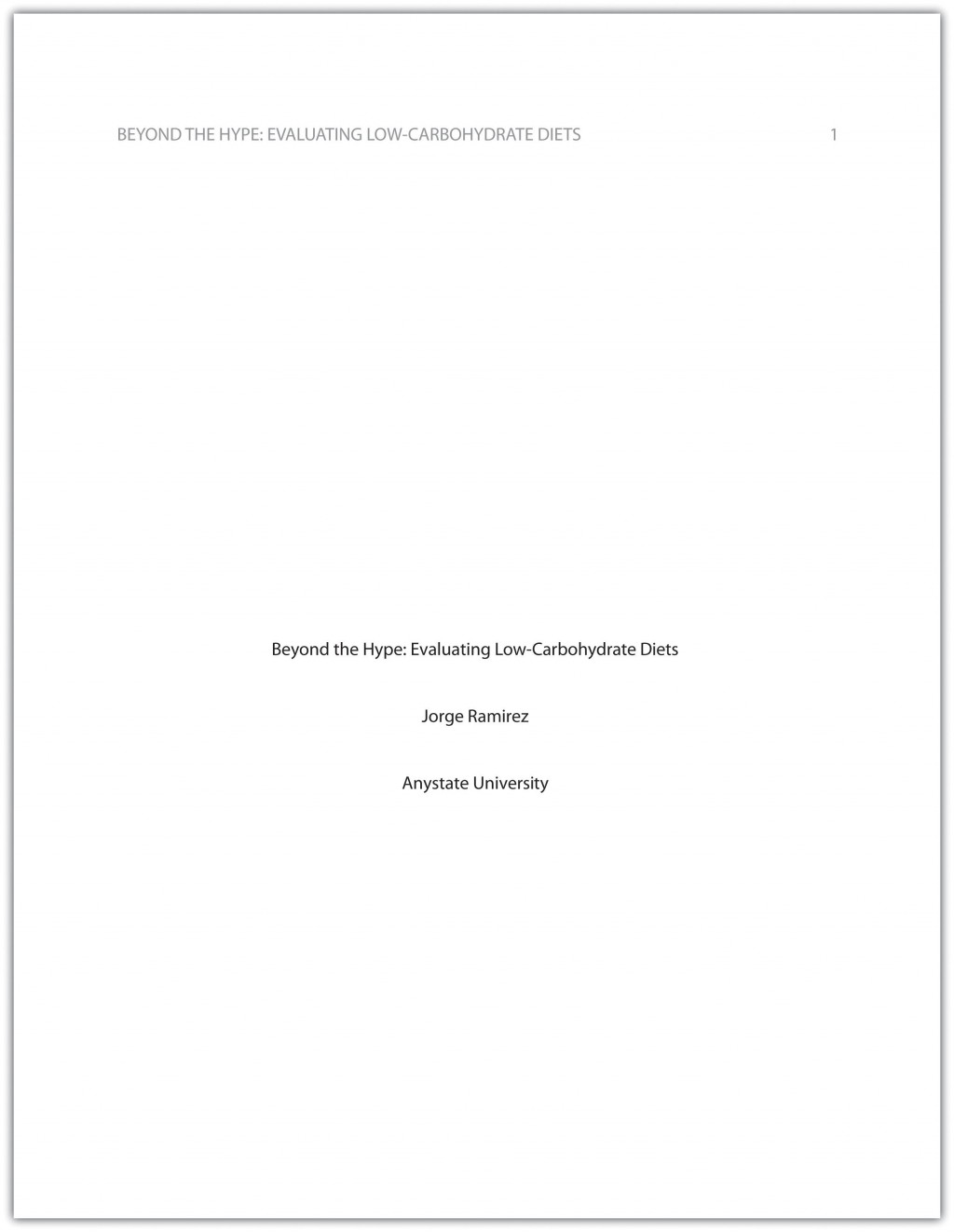 004 Apa Essay Cover Page Example Incredible Correct Title Front Research Large