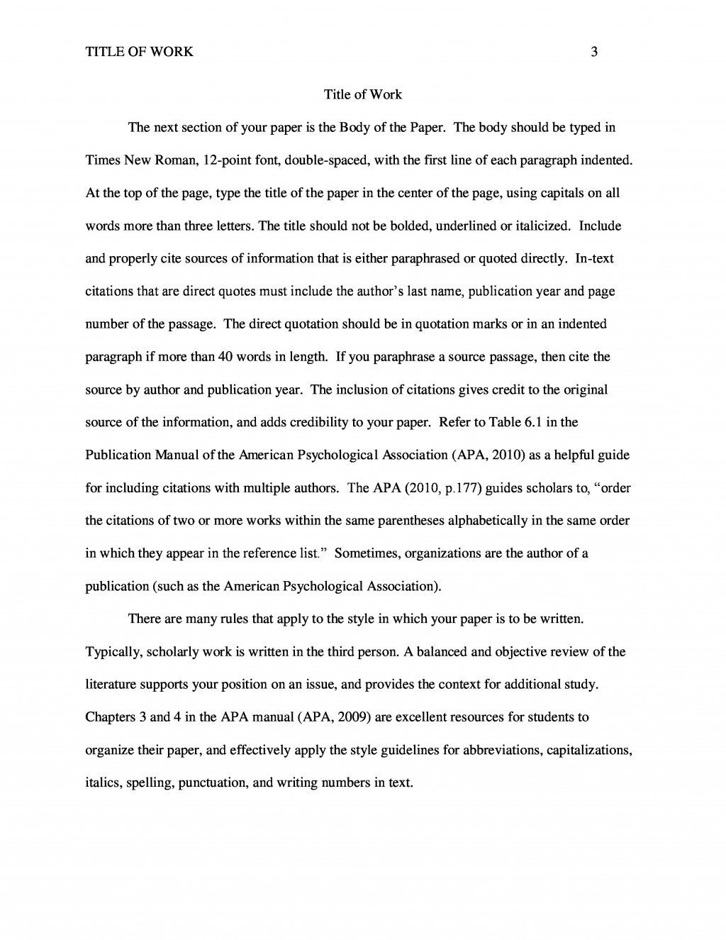 004 Apa Sample Paper Scf Page Example Impressive Essay Owl Research 2015 With Outline Large