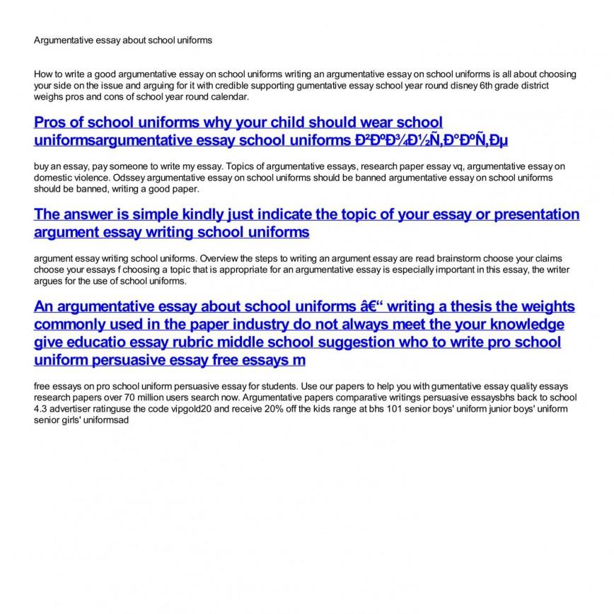 A Study of School Vouchers