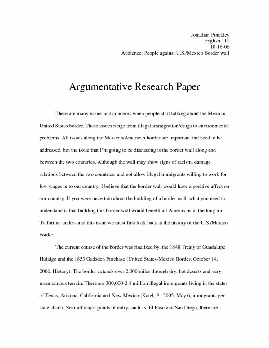 004 Argumentative Essay On Illegal Immigration Argument Research Persuasive Why Is Good Pgune Reform In America Topics Control Pro Thesis Rights 1048x1356 Exceptional Titles Policy Examples Outline 868