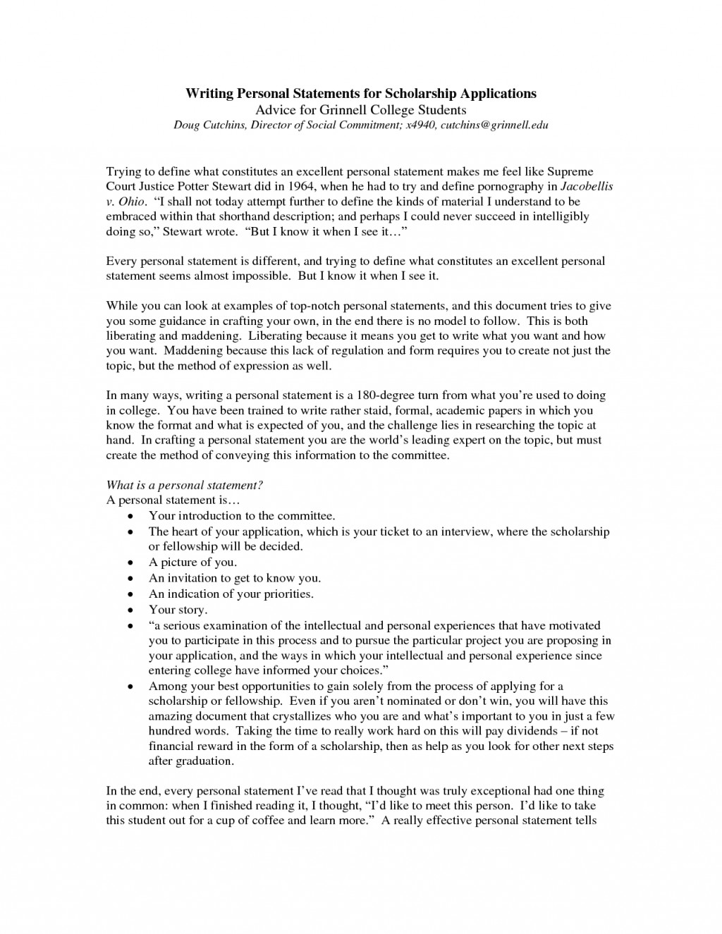 004 College Personal Statement Essays Marvelous Essay Examples Large