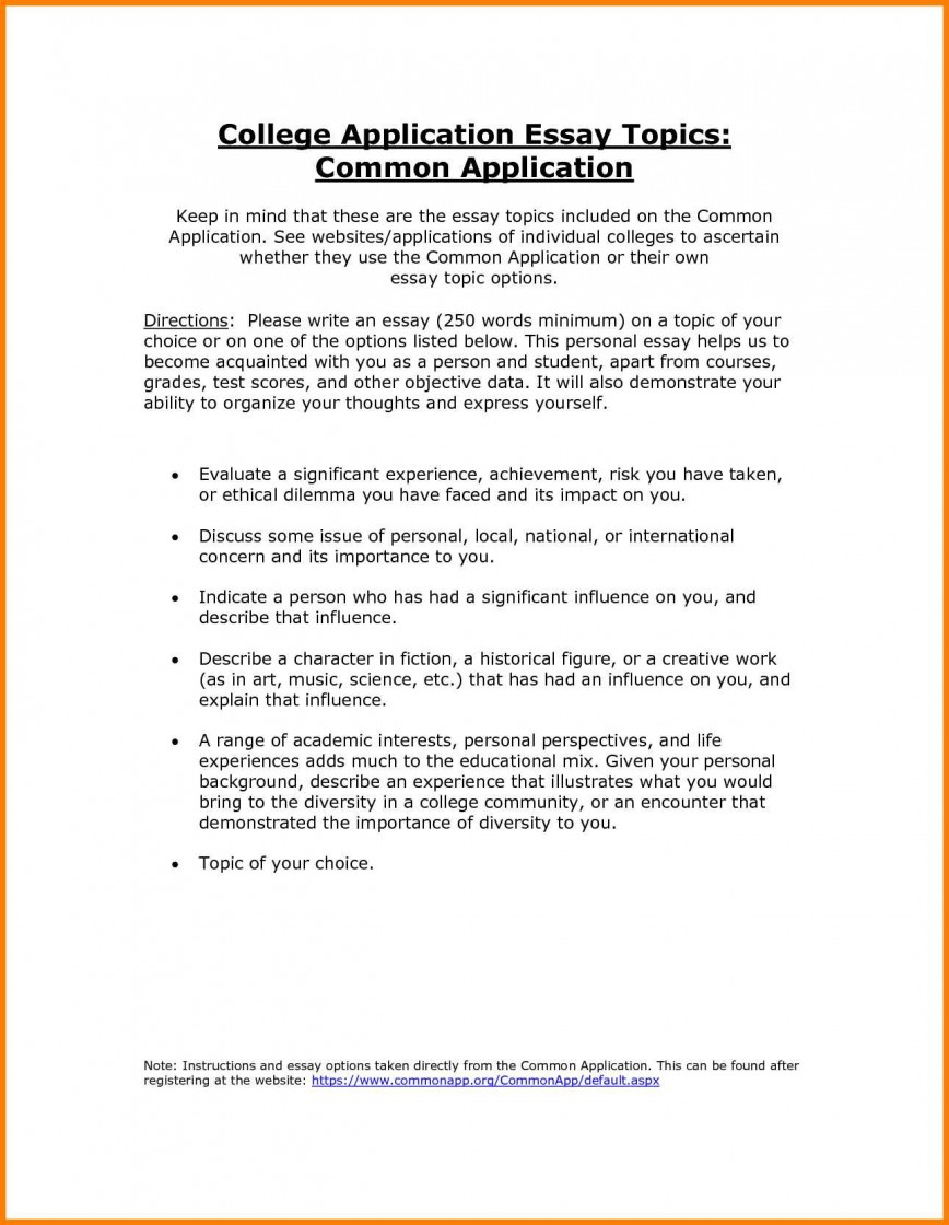 004 Common Application Essay Prompts Example Screen Shot At Pm App Essays Examples College Topics To Avoid That Worked Vzmth Question Cliche Imposing Word Limit 2017 2015