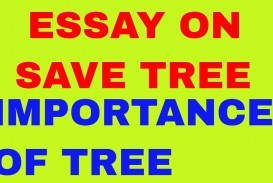 004 Description Of Trees For Essays Essay Example Striking
